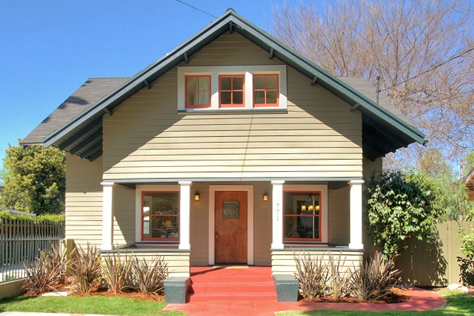 What makes a house a craftsman south sound property group for Craftsman style gables