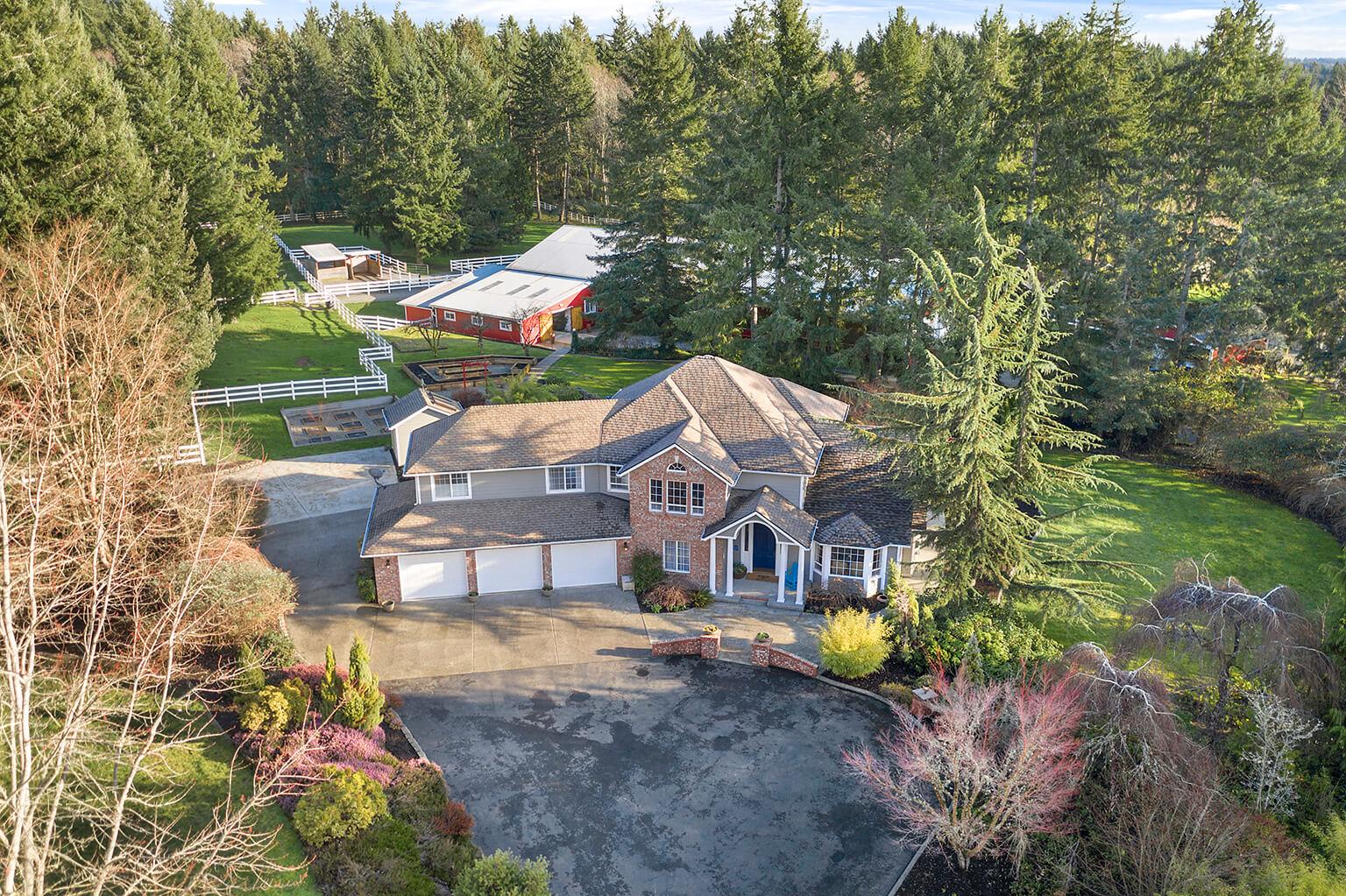 Five acre equestrian estate