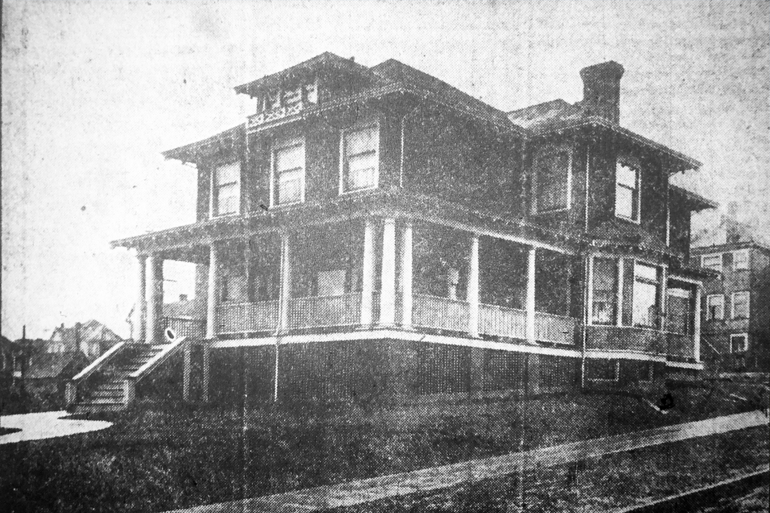 The Tozer House circa 1907