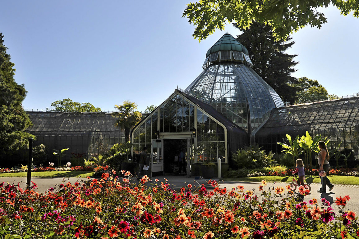 W. W. Seymour Botanical Conservatory at Wright Park