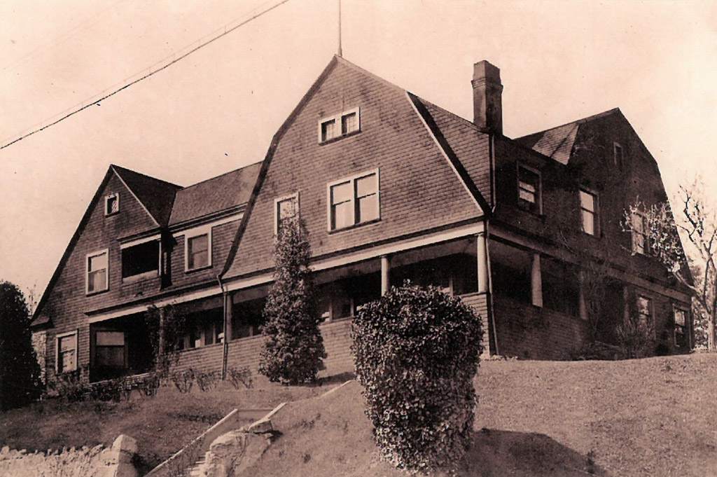 "Historic photo of ""double house"""