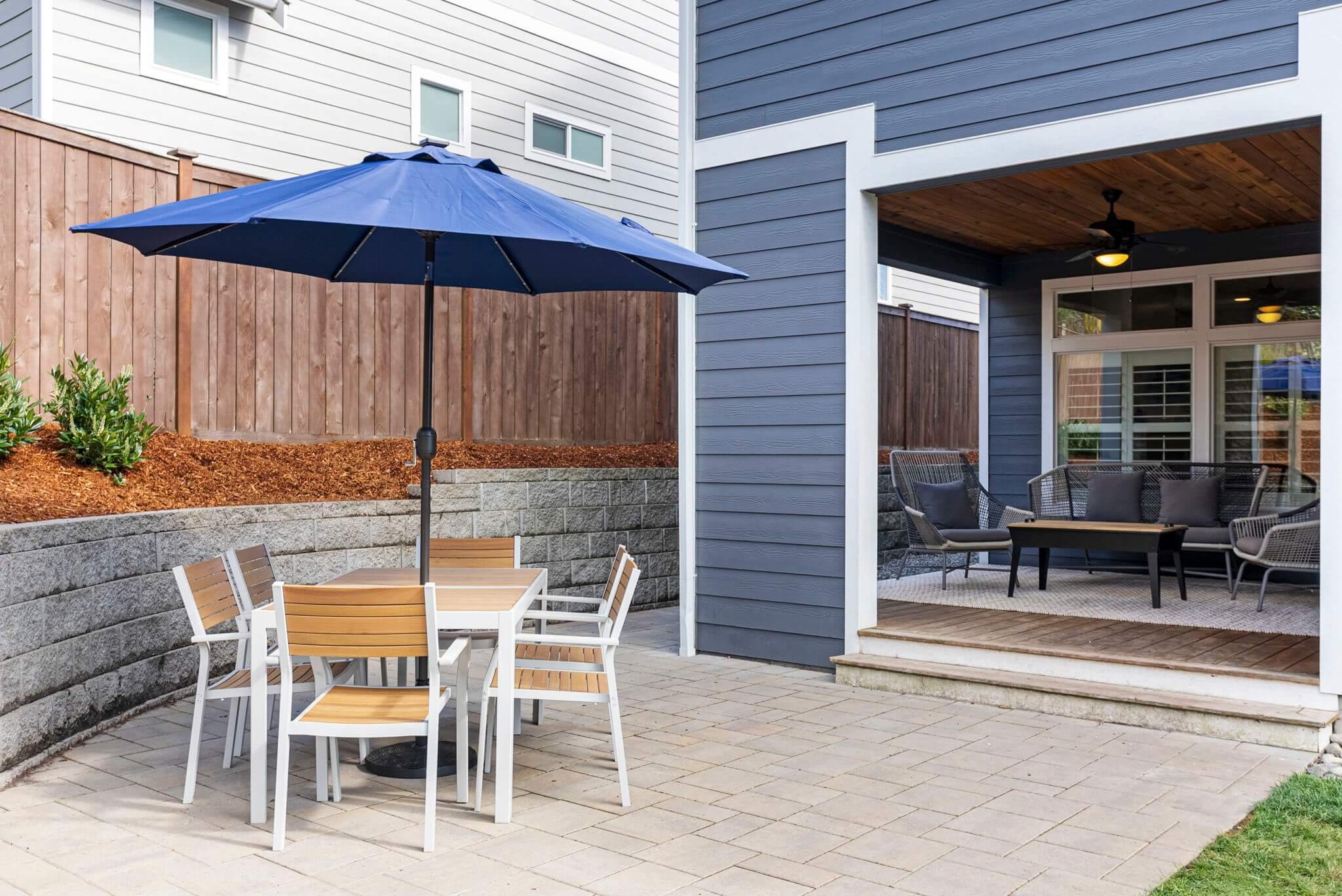 Patio offers great space for outdoor entertaining