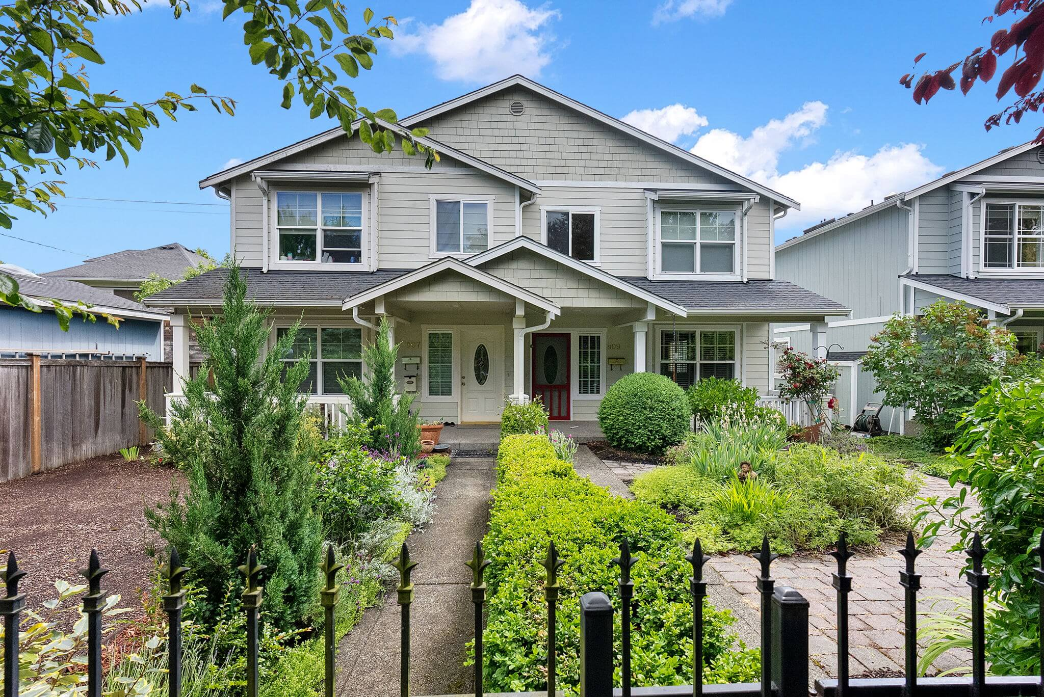 Centrally located attached townhouse built in 2005