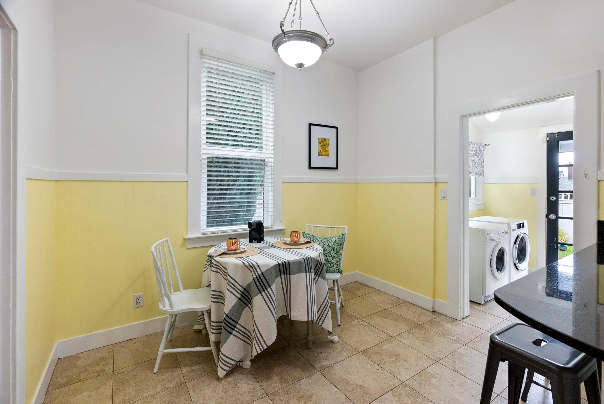 Ample space for casual dining