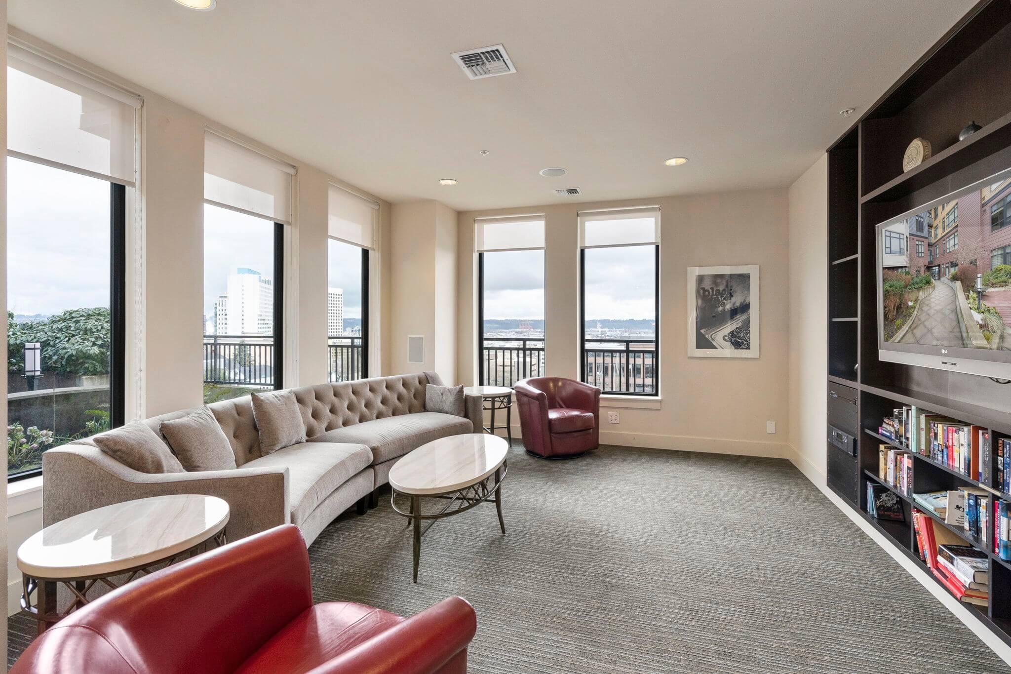 Club room media space