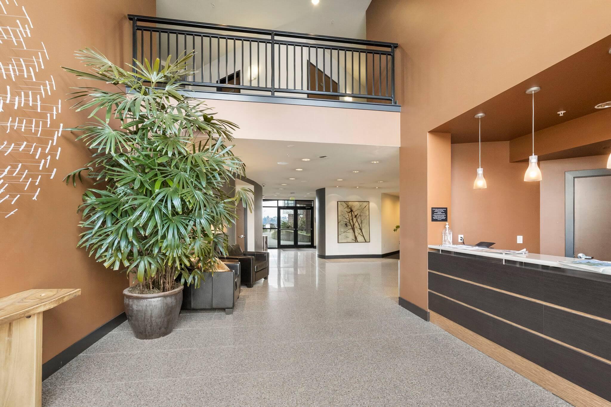 Secure lobby entrance
