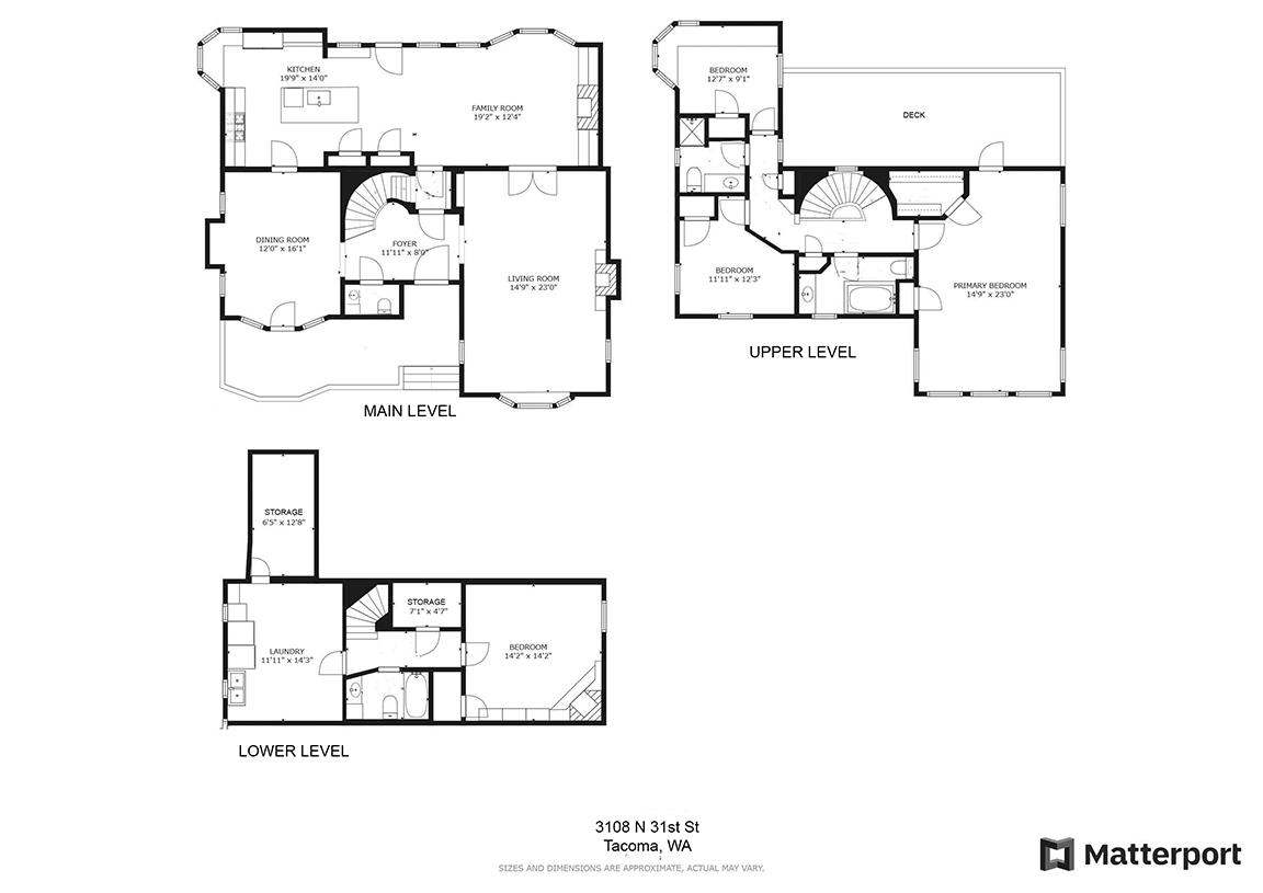 3108 N 31st St Floor Plan