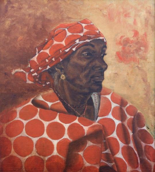 Woman-Wearing-Orange-Scarf