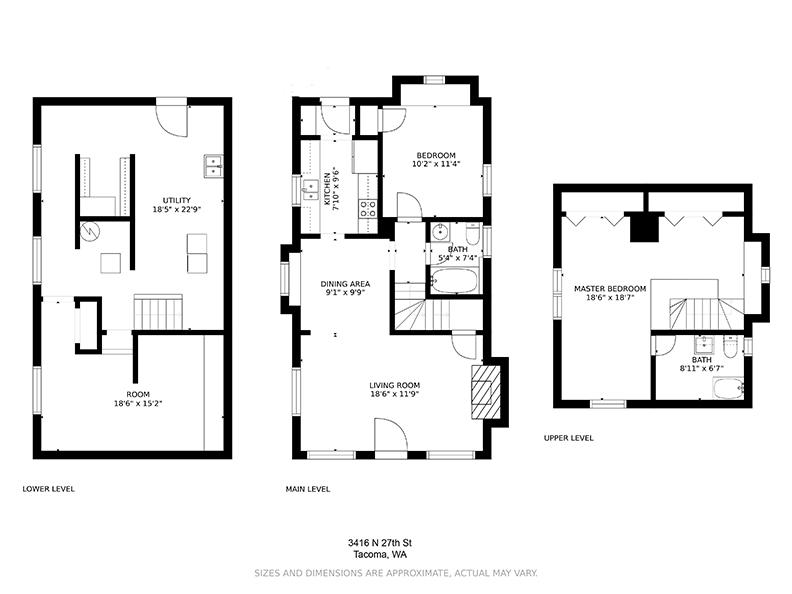Floor Plan - 3416 N 27th Street